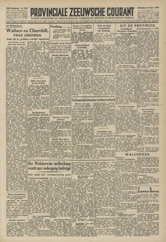 Provinciale Zeeuwse Courant 1946-09-24