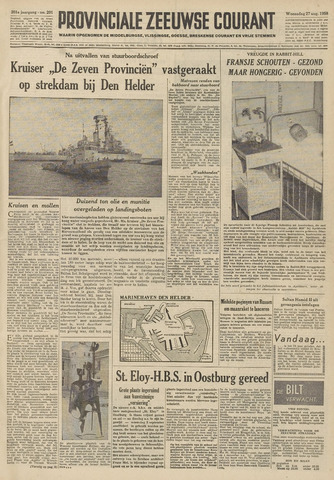 Provinciale Zeeuwse Courant 1958-08-27