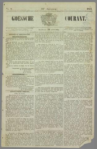 Goessche Courant 1857-01-26