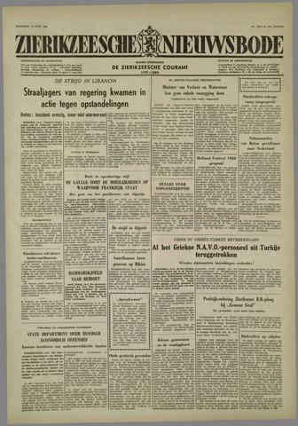 Zierikzeesche Nieuwsbode 1958-06-16