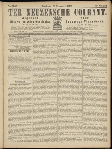 Ter Neuzensche Courant. Algemeen Nieuws- en Advertentieblad voor Zeeuwsch-Vlaanderen / Neuzensche Courant ... (idem) / (Algemeen) nieuws en advertentieblad voor Zeeuwsch-Vlaanderen 1909-09-23