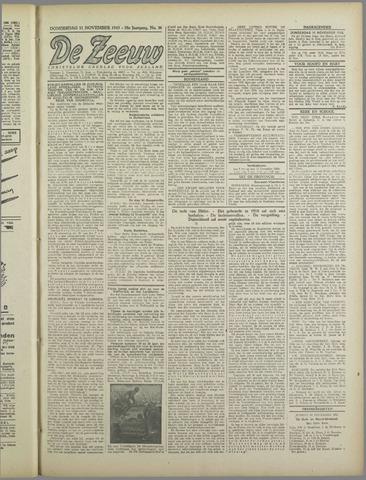 De Zeeuw. Christelijk-historisch nieuwsblad voor Zeeland 1943-11-11