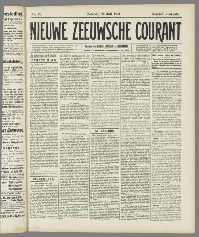 Nieuwe Zeeuwsche Courant 1911-07-22