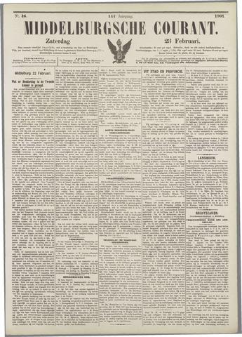 Middelburgsche Courant 1901-02-23