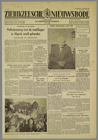 Zierikzeesche Nieuwsbode 1960-11-17