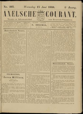 Axelsche Courant 1888-06-13