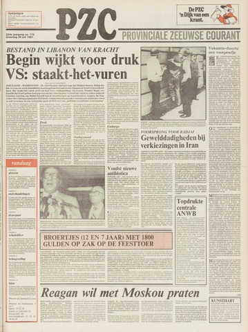 Provinciale Zeeuwse Courant 1981-07-25