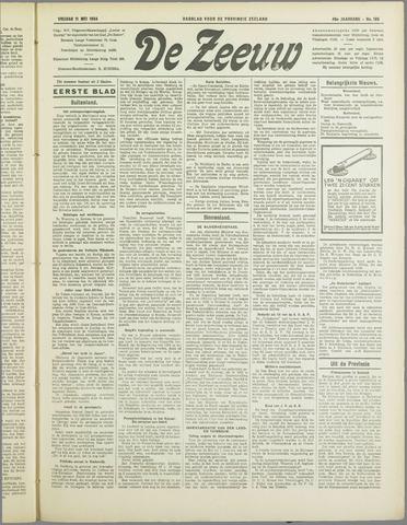De Zeeuw. Christelijk-historisch nieuwsblad voor Zeeland 1934-05-11