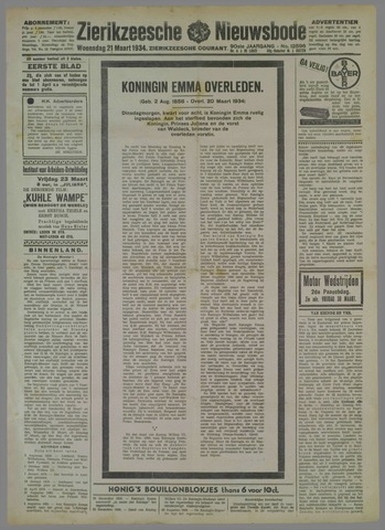 Zierikzeesche Nieuwsbode 1934-03-21