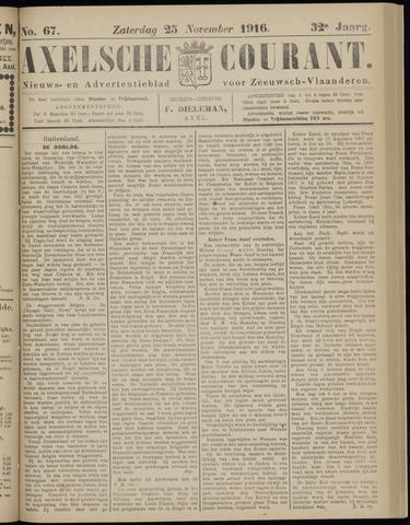 Axelsche Courant 1916-11-25