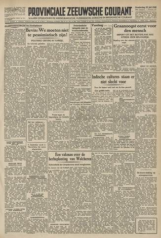 Provinciale Zeeuwse Courant 1946-07-25