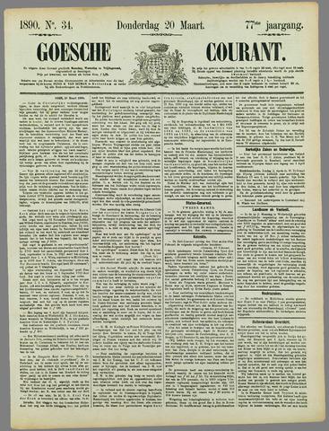 Goessche Courant 1890-03-20
