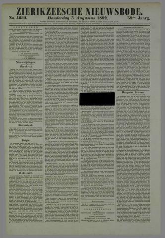Zierikzeesche Nieuwsbode 1882-08-03