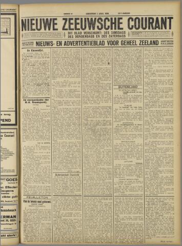 Nieuwe Zeeuwsche Courant 1926-04-01