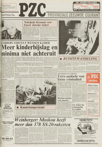 Provinciale Zeeuwse Courant 1984-10-12