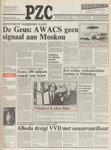 Provinciale Zeeuwse Courant 1980-12-11