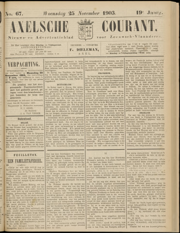 Axelsche Courant 1903-11-25