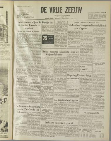 de Vrije Zeeuw 1958-11-26