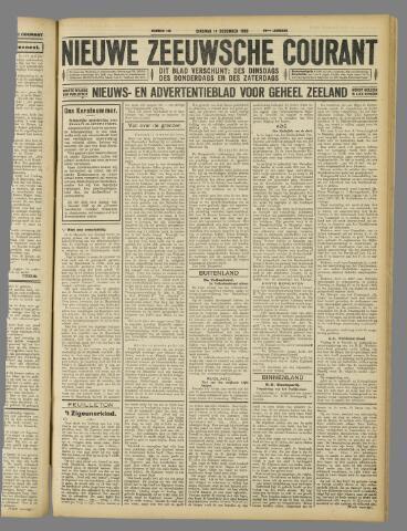 Nieuwe Zeeuwsche Courant 1926-12-14