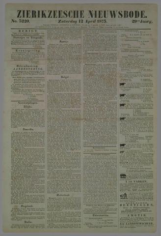 Zierikzeesche Nieuwsbode 1873-04-12