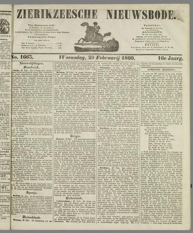 Zierikzeesche Nieuwsbode 1860-02-29