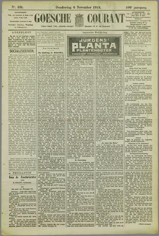 Goessche Courant 1919-11-06