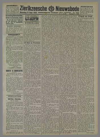 Zierikzeesche Nieuwsbode 1932-09-12
