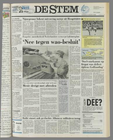de Stem 1991-08-19