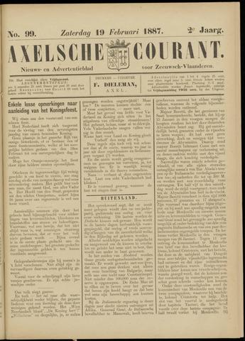 Axelsche Courant 1887-02-19