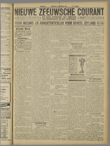 Nieuwe Zeeuwsche Courant 1925-12-19