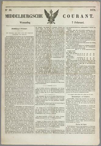 Middelburgsche Courant 1872-02-07