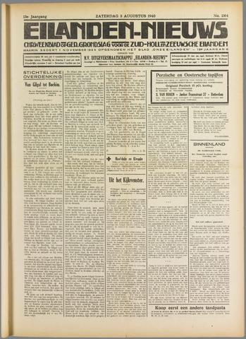 Eilanden-nieuws. Christelijk streekblad op gereformeerde grondslag 1940-08-03