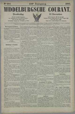 Middelburgsche Courant 1883-12-13