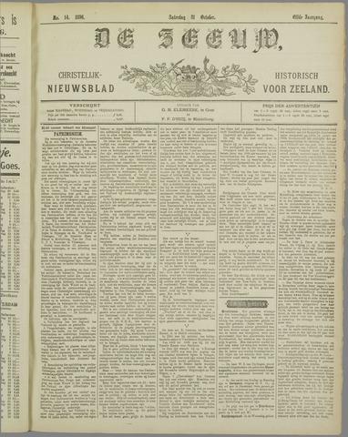 De Zeeuw. Christelijk-historisch nieuwsblad voor Zeeland 1896-10-31