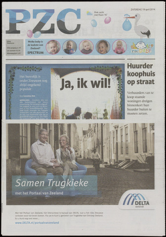 Provinciale Zeeuwse Courant 2014-04-19