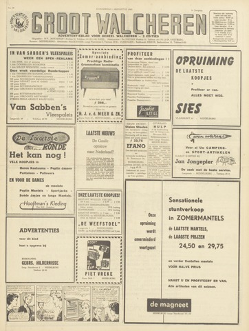 Groot Walcheren 1963-08-01
