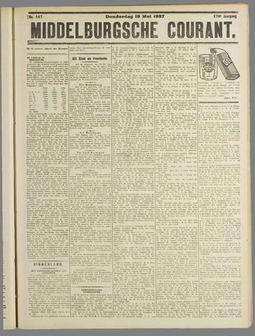 Middelburgsche Courant 1927-05-19