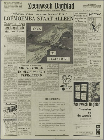 Zeeuwsch Dagblad 1960-09-01