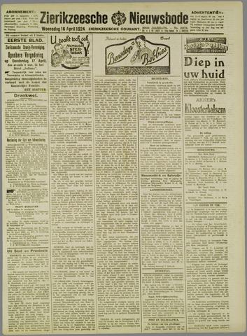 Zierikzeesche Nieuwsbode 1924-04-16