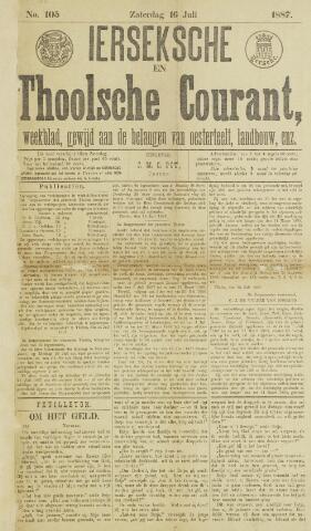 Ierseksche en Thoolsche Courant 1887-07-16
