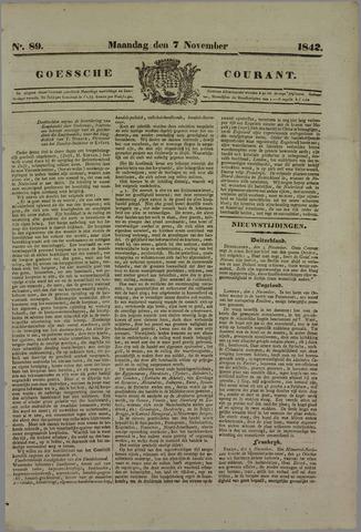 Goessche Courant 1842-11-07