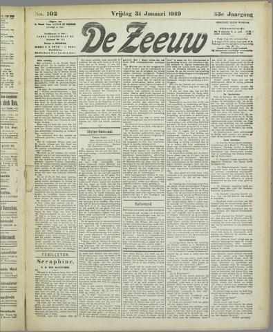 De Zeeuw. Christelijk-historisch nieuwsblad voor Zeeland 1919-01-31