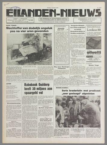 Eilanden-nieuws. Christelijk streekblad op gereformeerde grondslag 1976-08-03