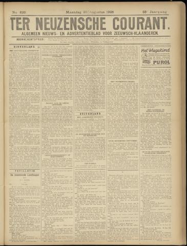 Ter Neuzensche Courant. Algemeen Nieuws- en Advertentieblad voor Zeeuwsch-Vlaanderen / Neuzensche Courant ... (idem) / (Algemeen) nieuws en advertentieblad voor Zeeuwsch-Vlaanderen 1928-08-20
