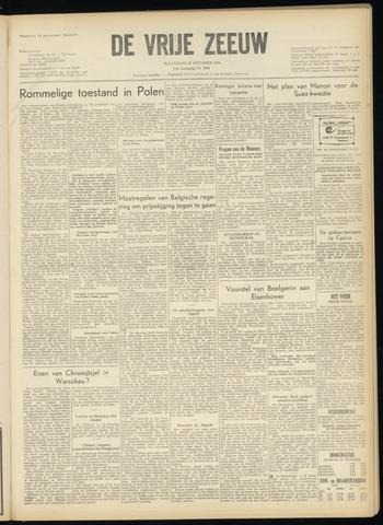 de Vrije Zeeuw 1956-10-22
