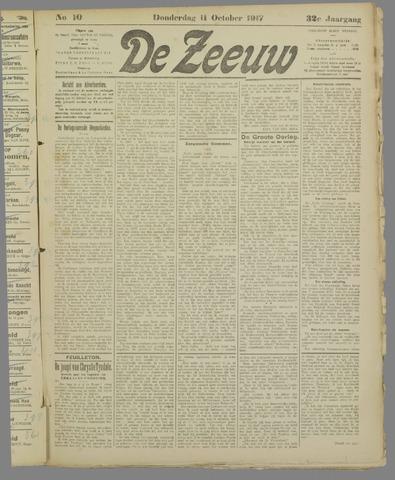De Zeeuw. Christelijk-historisch nieuwsblad voor Zeeland 1917-10-11