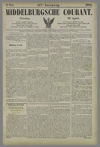 Middelburgsche Courant 1884-04-29