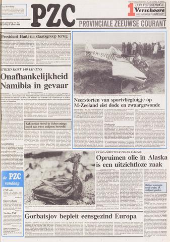 Provinciale Zeeuwse Courant 1989-04-03