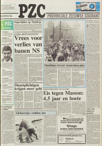 Provinciale Zeeuwse Courant 1987-03-20