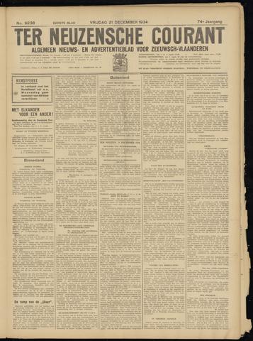 Ter Neuzensche Courant. Algemeen Nieuws- en Advertentieblad voor Zeeuwsch-Vlaanderen / Neuzensche Courant ... (idem) / (Algemeen) nieuws en advertentieblad voor Zeeuwsch-Vlaanderen 1934-12-21